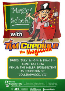 Magic Lessons for Kids - School Holiday Activities